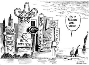 Il est temps de réglementer Wall Street Casino