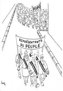 Les représentants du peuple ne prennent pas la même direction que le peuple