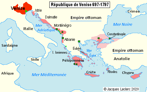 Carte de la République de Venise